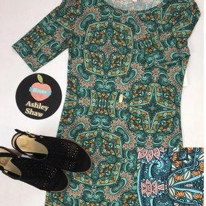 LuLaRoe Julia Midi Dress-NWT😍